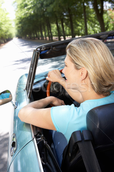 Woman in sports car Stock photo © monkey_business