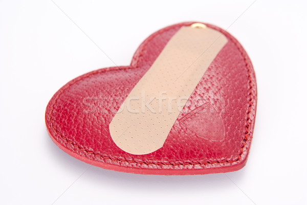 Band Aid Covering Heart Stock photo © monkey_business