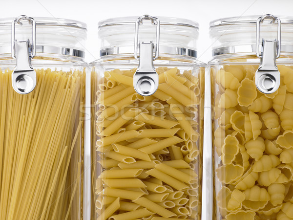 Jars Filled With Pastas Stock photo © monkey_business