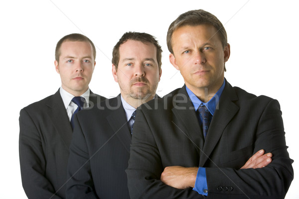 Group Of Businessmen Looking Stern   Stock photo © monkey_business