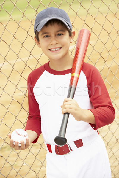 Joc Baseball copil băiat bat Imagine de stoc © monkey_business