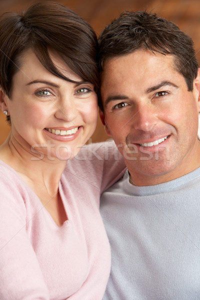 Portrait Of Romantic Young Couple Stock photo © monkey_business