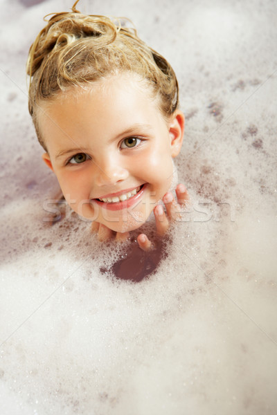 Girl Playing In Bath Stock photo © monkey_business