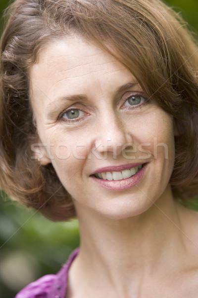 Head shot of woman smiling Stock photo © monkey_business