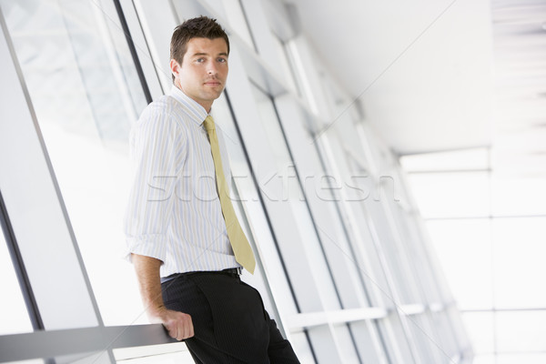 Businessman standing in corridor Stock photo © monkey_business