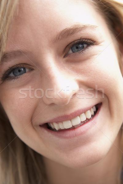 Retrato sorridente crianças adolescente pessoa Foto stock © monkey_business