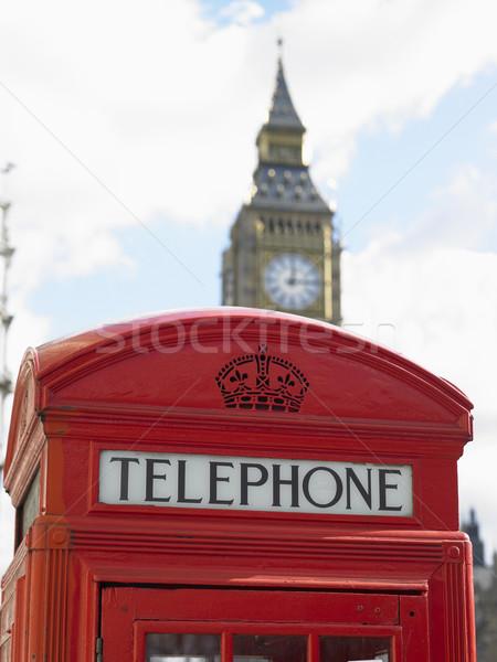 Сток-фото: телефон · стенд · большой · Бен · часы · башни · Лондон