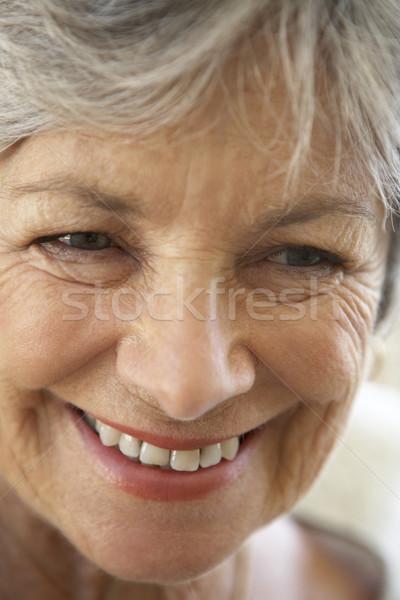 senior,portrait,Woman,Sixties,Happy,Smiling,Cheerful,Headshot,Fr Stock photo © monkey_business