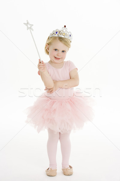 Little Girl Dressed As Fairy Stock photo © monkey_business