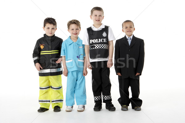 Young Children Dressing Up As Professions Stock photo © monkey_business