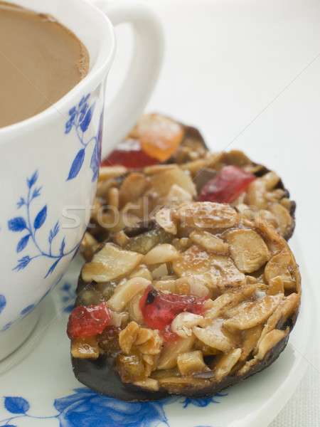 Petit Florentines with a Cup of Tea Stock photo © monkey_business