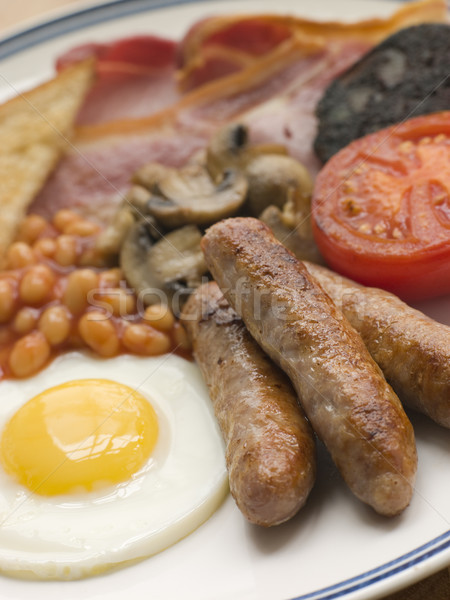 Full English Breakfast Stock photo © monkey_business