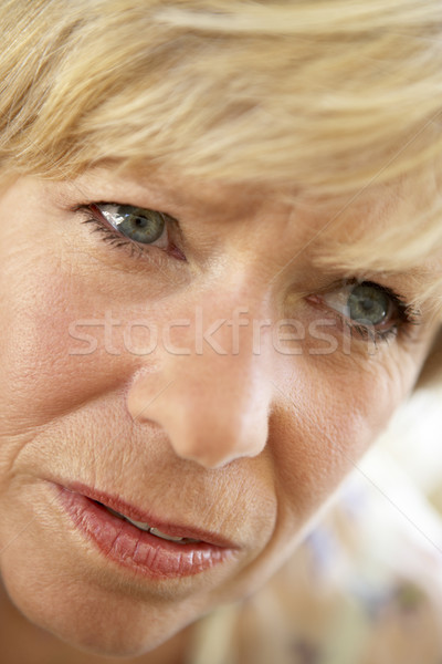 senior,portrait,Woman,Sixties,Headache,Tired,Unhappy,Headshot,Pa Stock photo © monkey_business