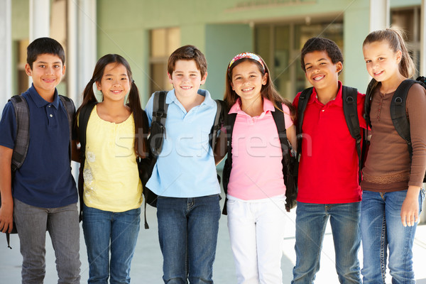 Pre teen children at school Stock photo © monkey_business