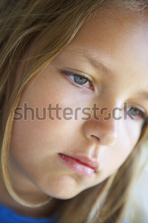 Portrait Of Girl Looking Depressed Stock photo © monkey_business