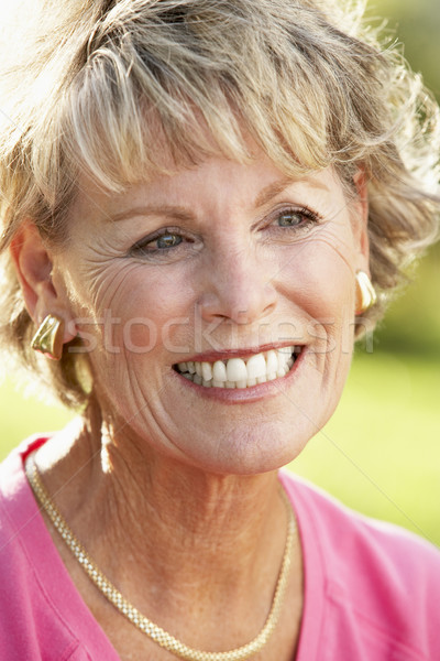 senior,portrait,Woman,Fifties,Cheerful,Happy,Smiling,Friendly,Ha Stock photo © monkey_business