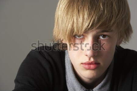Portrait Of Serious Teenage Boy Stock photo © monkey_business