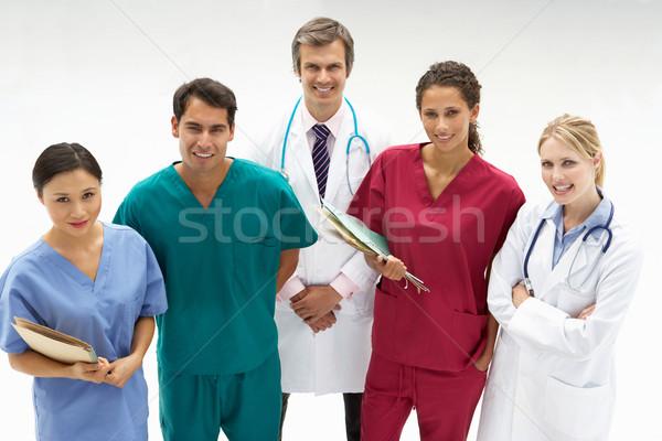 Сток-фото: группа · медицинской · профессионалов · работу · больницу · мужчин