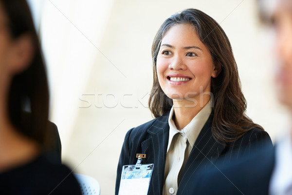 Businesswoman Listening To Speaker At Conference Stock photo © monkey_business