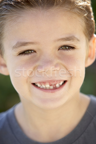 Stock photo: Portrait Of Boy Smiling