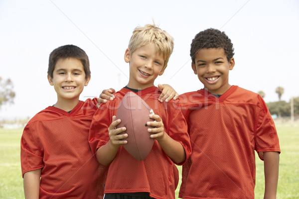 Young Boys In Basketball Team Stock photo © monkey_business