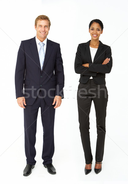Smartly dressed businessman and woman Stock photo © monkey_business