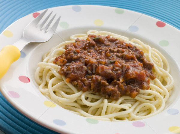Spaghetti Bolognaise Stock photo © monkey_business