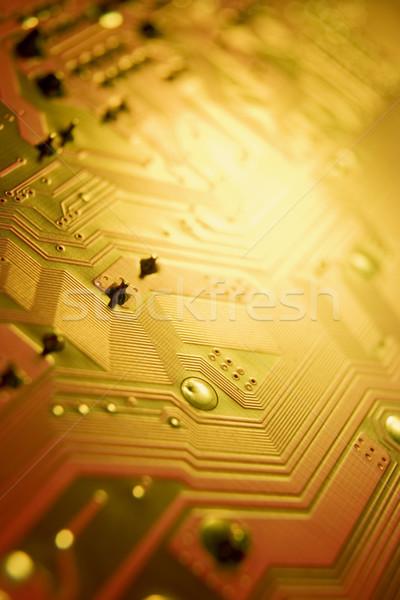 Circuit or studio couleur connexion Photo stock © monkey_business
