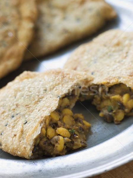 Prato interior indiano vegetal ninguém Foto stock © monkey_business