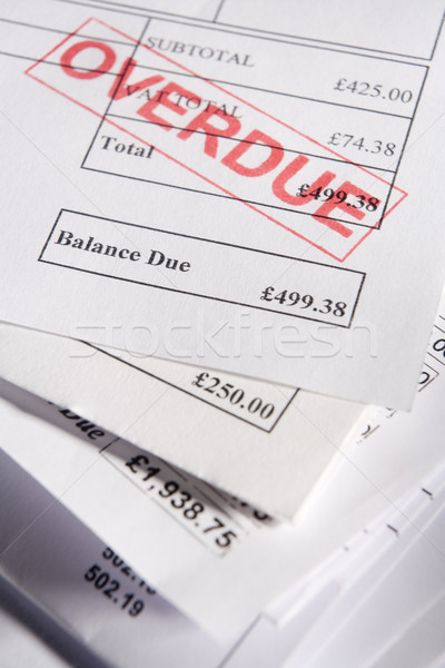Overdue Bills Stock photo © monkey_business