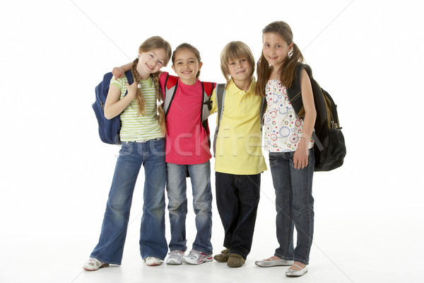 Group of children in Studio Stock photo © monkey_business