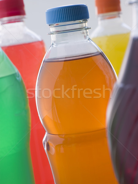 Selection Of Fizzy Drink Bottles Stock photo © monkey_business