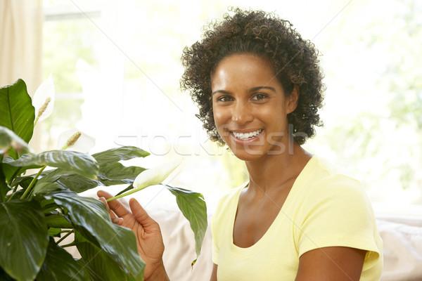 Nő néz boldog portré nappali fiatal Stock fotó © monkey_business