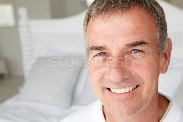 Mid age man head and shoulders Stock photo © monkey_business