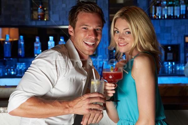 Couple Enjoying Cocktail In Bar Stock photo © monkey_business