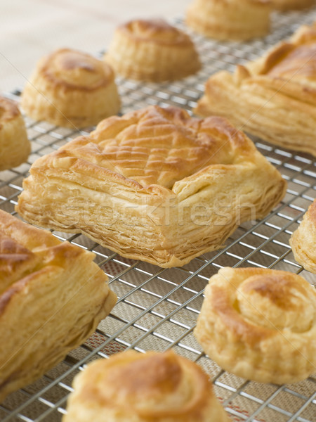 Selection of Vol au vents on a Cooling rack Stock photo © monkey_business