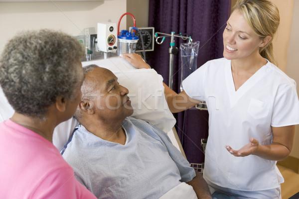 Doctor Explaining To Senior Couple Stock photo © monkey_business
