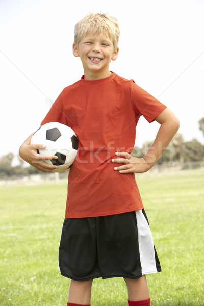 Young Boys In Football Team Stock photo © monkey_business