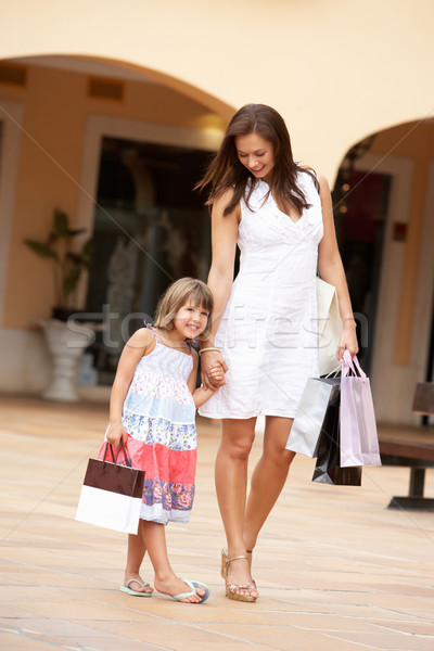 Mother And Daughter Enjoying Shopping Trip Together Stock photo © monkey_business