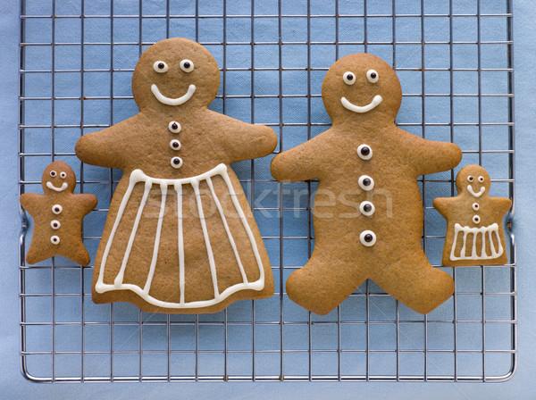 Stock fotó: Mézeskalács · család · buli · főzés · édes · cukor