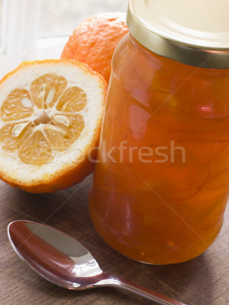 Jar Of Marmalade Stock photo © monkey_business