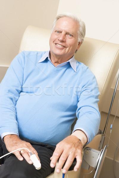 Photo stock: Portrait · patient · médicaux · santé · médicaments · souriant