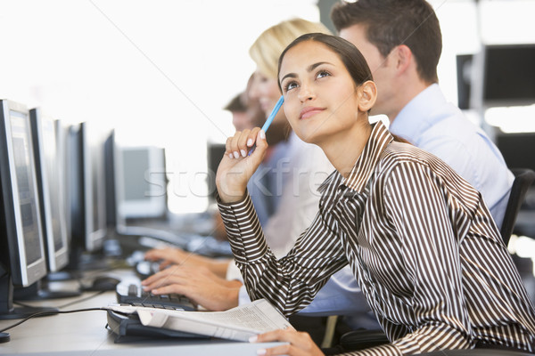 Stock Trader Deep In Thought Stock photo © monkey_business