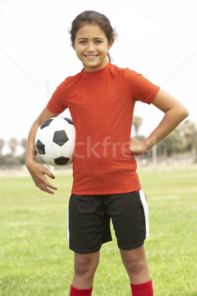 Young Boy In Football Team Stock photo © monkey_business