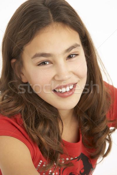 Studio Portrait Of Young Girl Stock photo © monkey_business