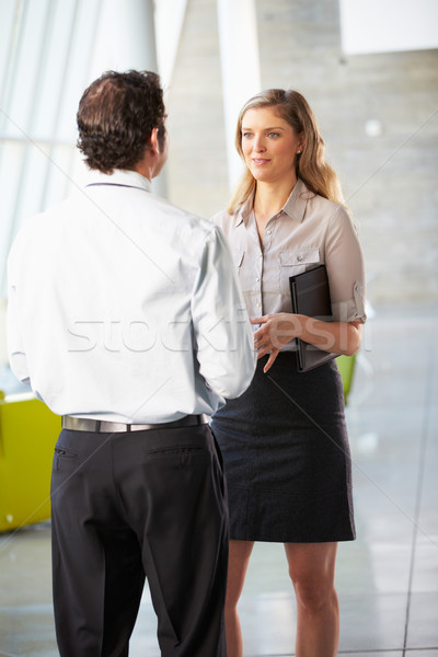 Businessman And Businesswoman Having Meeting In Office Stock photo © monkey_business