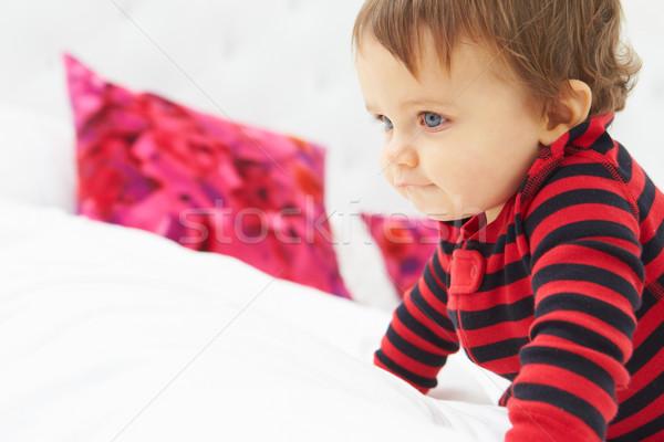 Letto indossare pigiama baby Foto d'archivio © monkey_business