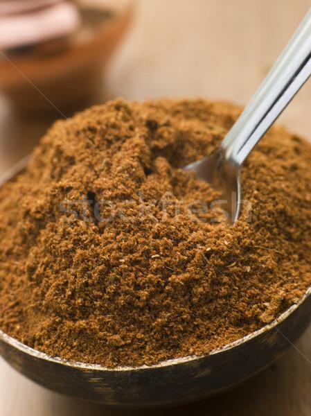 Dish of Tikka Masala Powder Stock photo © monkey_business