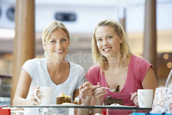 Female Friends Having Lunch Together At The Mall Stock photo © monkey_business
