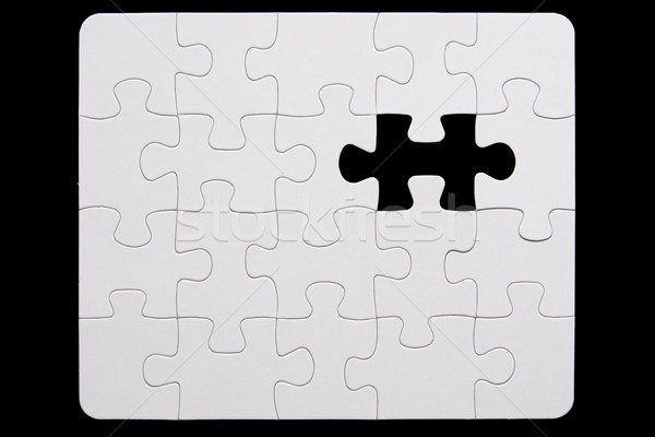 Puzzle grup culoare concept obiecte Imagine de stoc © monkey_business